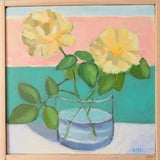 Image of Yellow Roses by Anne Carrozza Remick For Sale