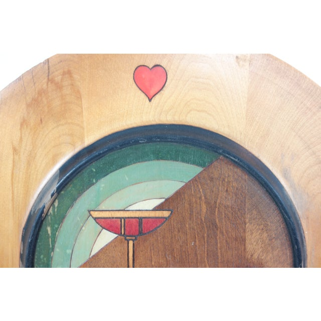 1940's Seceni Art Deco Gambling Platter For Sale In Seattle - Image 6 of 11