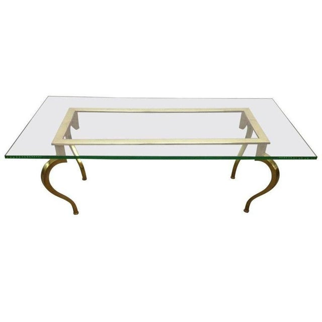 French Bronze Coffee Table by Maison Ramsay For Sale In New York - Image 6 of 6