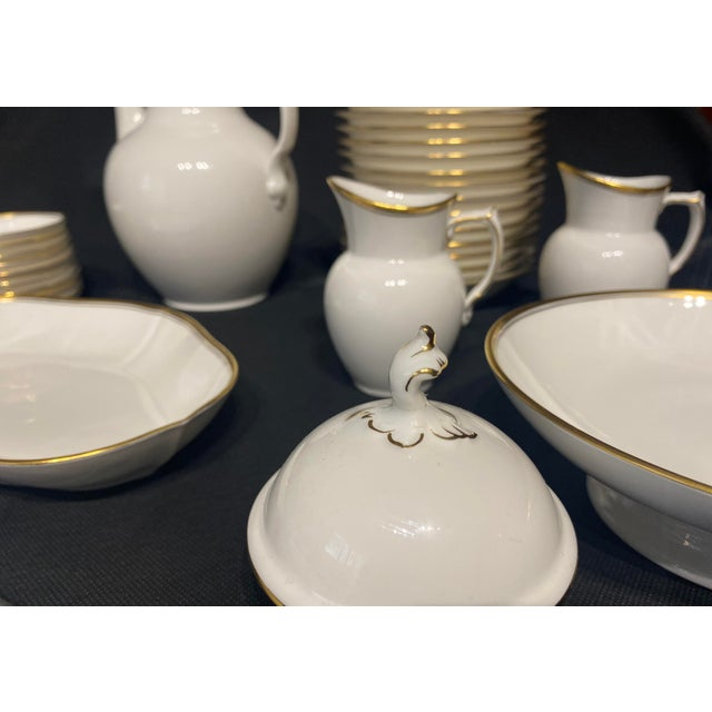 Royal Copenhagen 1960s Tea Set by Royal Copenhagen - Set of 35 For Sale - Image 4 of 10