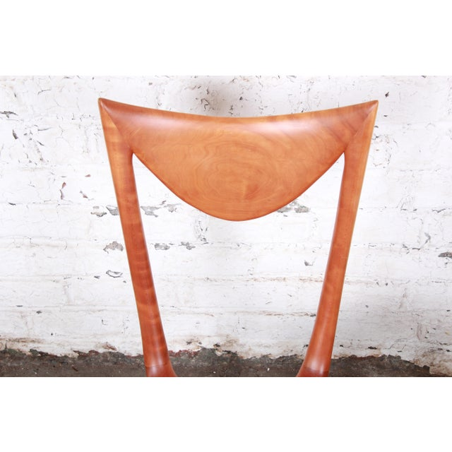 "Oskar Kogoj Studio Craftsman Sculptural ""Venetia"" Chairs - a Pair For Sale - Image 10 of 13"