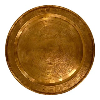 Large Brass Tray For Sale