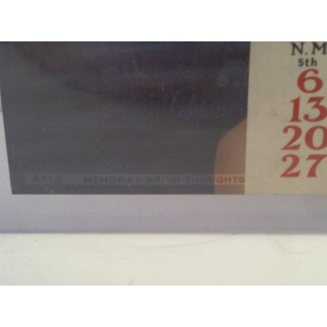 Vintage Advertising Calendar 1935 For Sale In Pittsburgh - Image 6 of 7