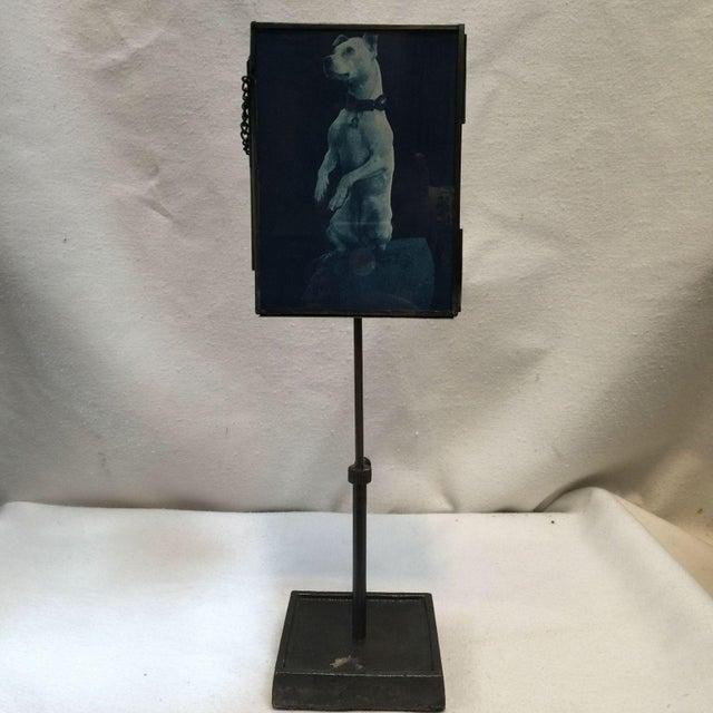 Vintage Metal Standing Picture Frames - Set of 4 - Image 6 of 8