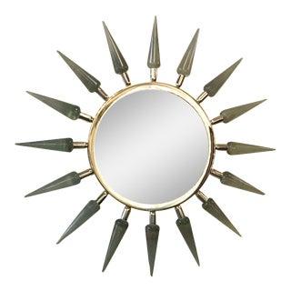 Fabio Ltd Sunburst Mirror For Sale