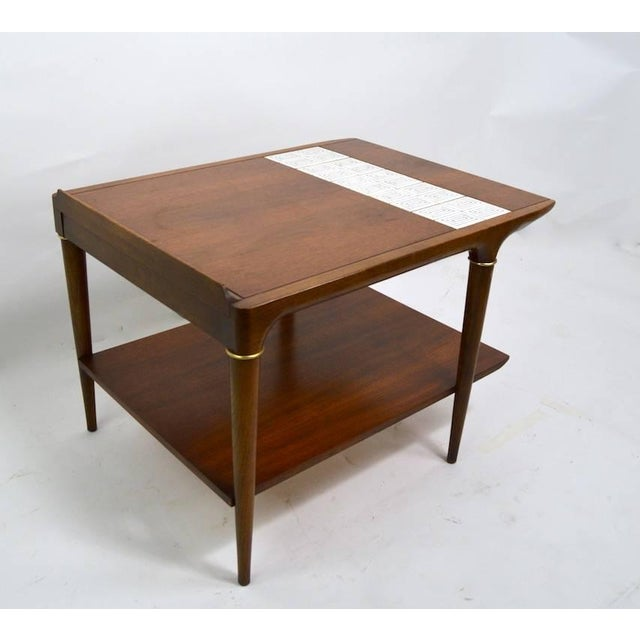 Tile And Wood End Tables By Lane, Lane Furniture Company Phone Number