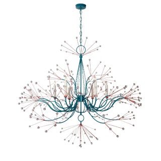 Modern Splashing Water 54 Chandelier by Tony Duquette For Sale