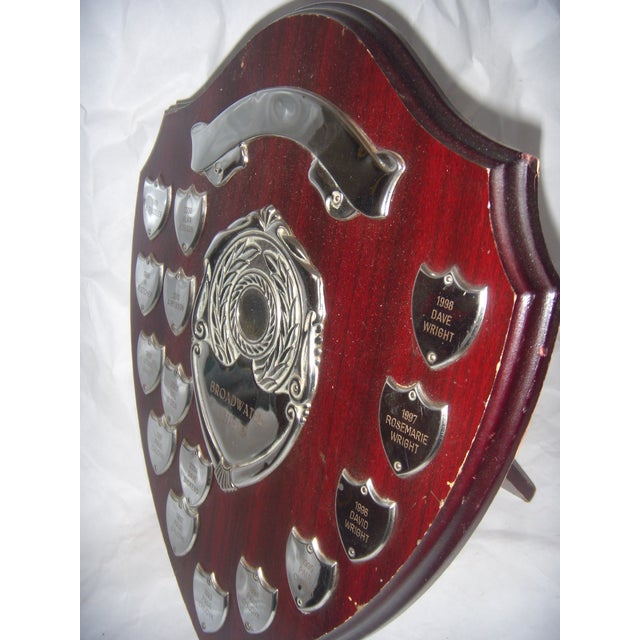 English Sports Trophy Plaque, Broadwater Sheild - Image 5 of 6