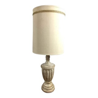 Vintage Neoclassical Style Lamp With Shade