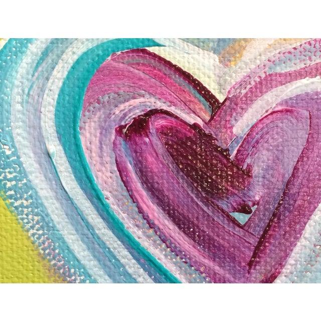 'Tropical Heart' Original Painting by Linnea Heide - Image 3 of 4