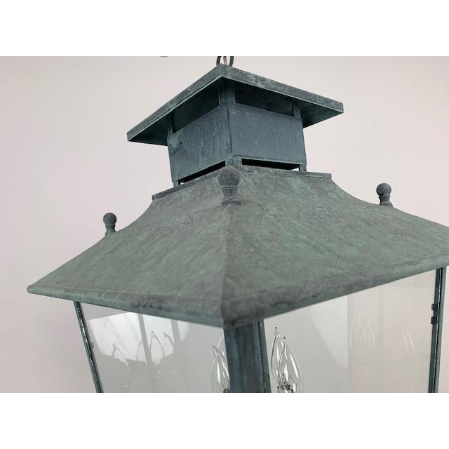 Single 4 Light Lantern by Genie House For Sale In West Palm - Image 6 of 9