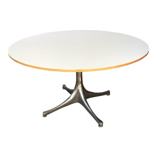 George Nelson Pedestal Table For Herman Miller For Sale