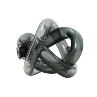 SkLO Wrap Object Glass Knot - Smoke For Sale