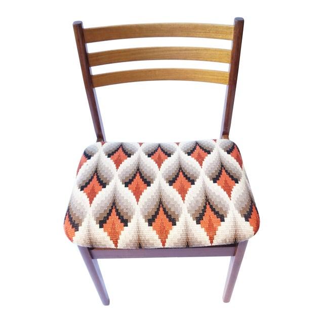 Danish Modern Teak & Beech Chairs - Set of 6 - Image 3 of 7
