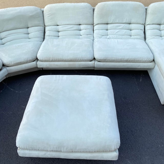 Mint Vladimir Kagan for Preview 7 Piece Modular Sectional For Sale - Image 8 of 13