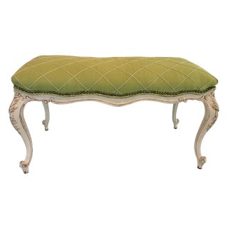 Vintage French Style Bench For Sale