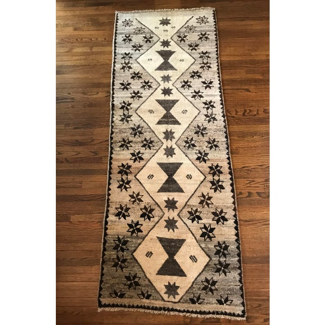 Textile Cream, Brown + Gray Persian Rug For Sale - Image 7 of 7