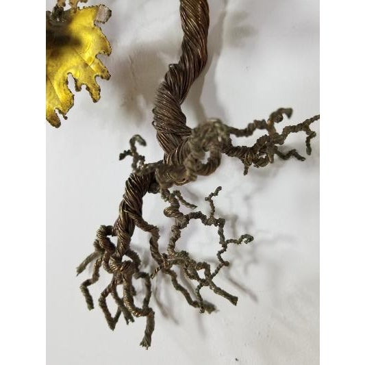 Metal 1970s Mid-Century Curtis Jere Style Tree of Life For Sale - Image 7 of 13