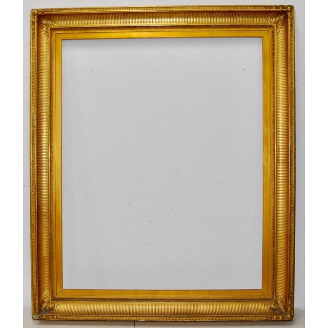 Monumental Late 19th Century Gilded Frame c.1890s | Chairish