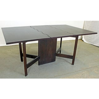 Mid-Century Modern George Nelson for Herman Miller Drop-Leaf Dining Table Preview