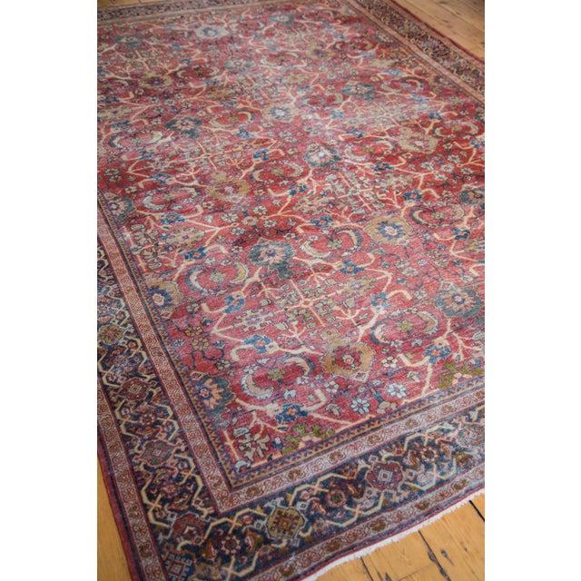 "Antique Persian Mahal Carpet - 7'1"" x 10'1"" - Image 8 of 9"