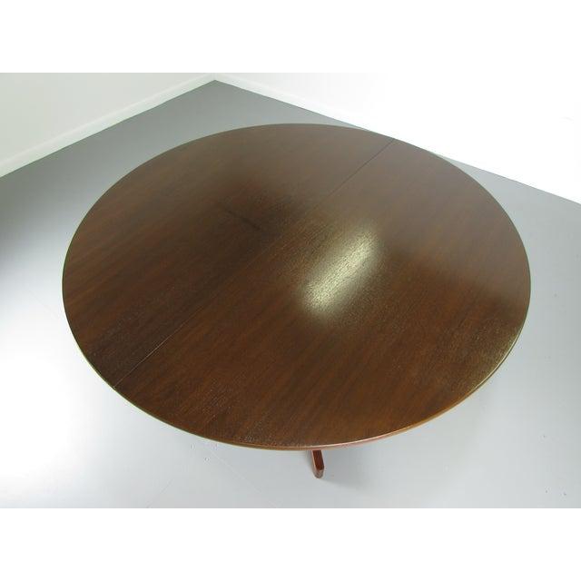 Arne Halvorsen Teak Dining Table - Image 3 of 6