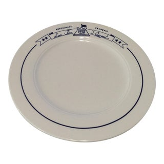 La Tour Argent Platter For Sale