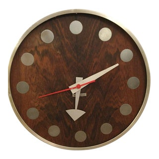 George Nelson & Associates Clock For Sale