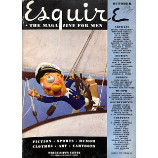 Esquire October 1934 For Sale