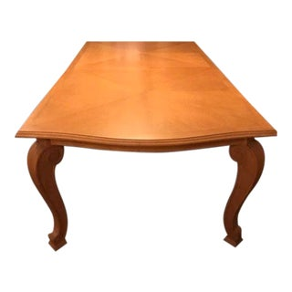 Traditional Imports Custom Dining Table For Sale