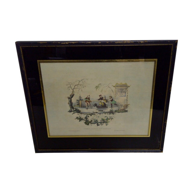 Croquis Chinois Par Lasalle, 1800s Chinese Print For Sale
