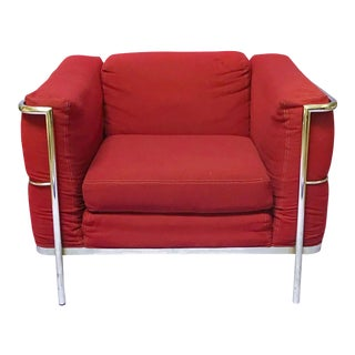 Modern Jack Cartwright Burgandy Chair For Sale