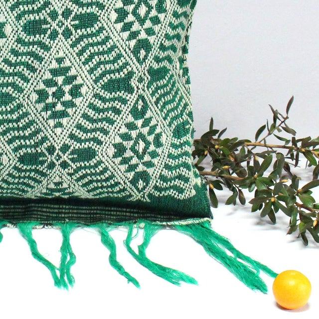 Handloomed Sumba Ikat Lumbar Pillow - Image 4 of 7