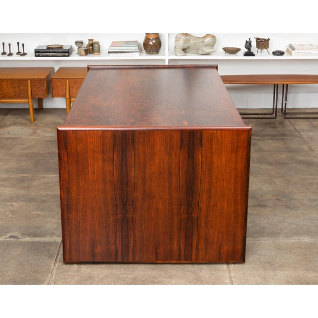 Rosewood Executive Desk For Sale - Image 9 of 11