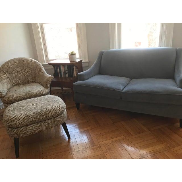 Custom Mid-Century Modern Sofa - Image 3 of 7
