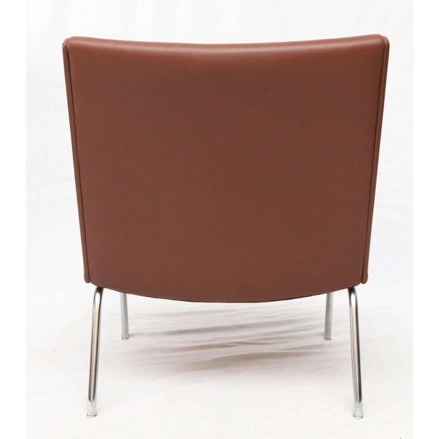 Brown Hans Wegner AP 39 Lounge Chairs For Sale - Image 8 of 10