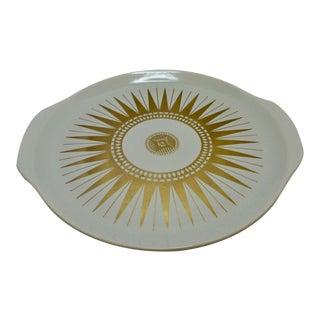 Mid-Century Modern Starburst Appetizer Platter For Sale