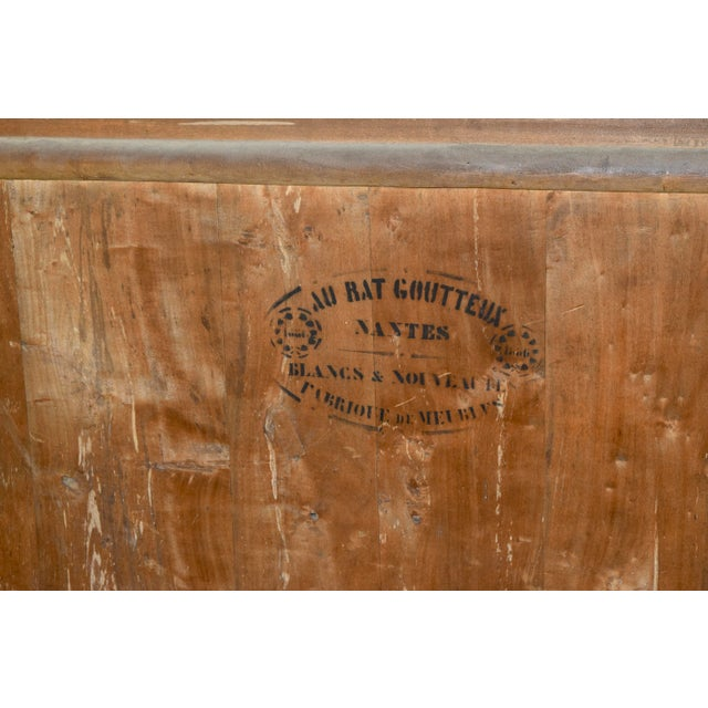 Wood 19th C. French Chest of Drawers For Sale - Image 7 of 11