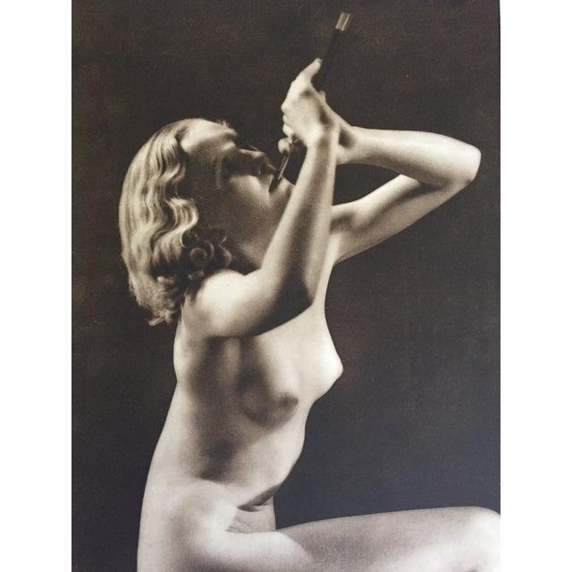 John Eeverard 1930 Vintage Nude Photogravure For Sale - Image 4 of 4