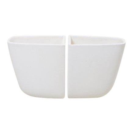 Pair of Malcolm Leland Planters for Architectural Pottery, Usa, 1960s For Sale