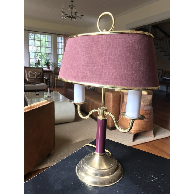 1940s Vintage Double Candle Bouillotte Lamp For Sale - Image 12 of 12