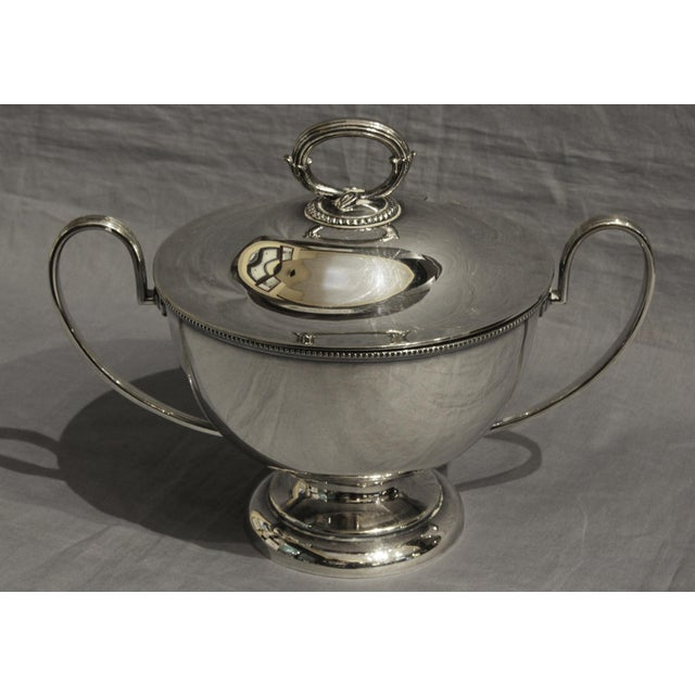 Silver Goldsmiths & Silversmiths LTD Silver English Soup Tureen For Sale - Image 8 of 8