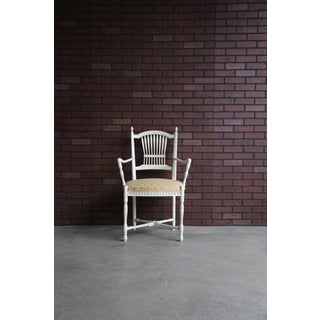 Late 20th Century French Provincial Dining Arm Chairs- Set of 4 Preview