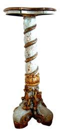 Image of Gold Leaf Pedestals and Columns