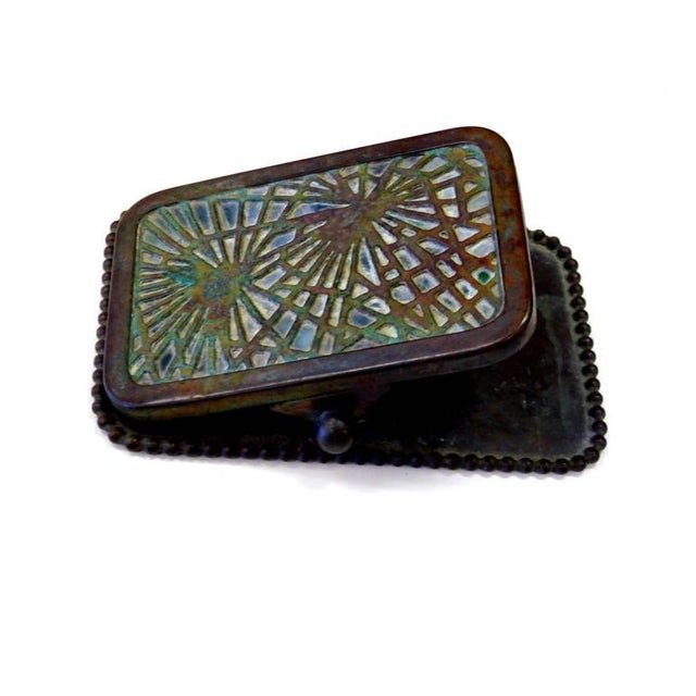 Pine Needle Paper Clip by Tiffany Studios - Image 3 of 7
