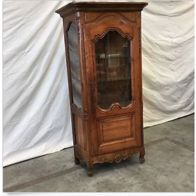 Antique French Curio Cabinet China Cabinet Display Cabinet For Sale In  Austin - Image 6 of - Antique French Curio Cabinet China Cabinet Display Cabinet Chairish
