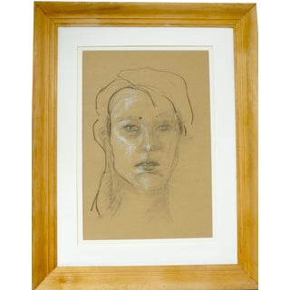 Portrait of a Young Girl For Sale