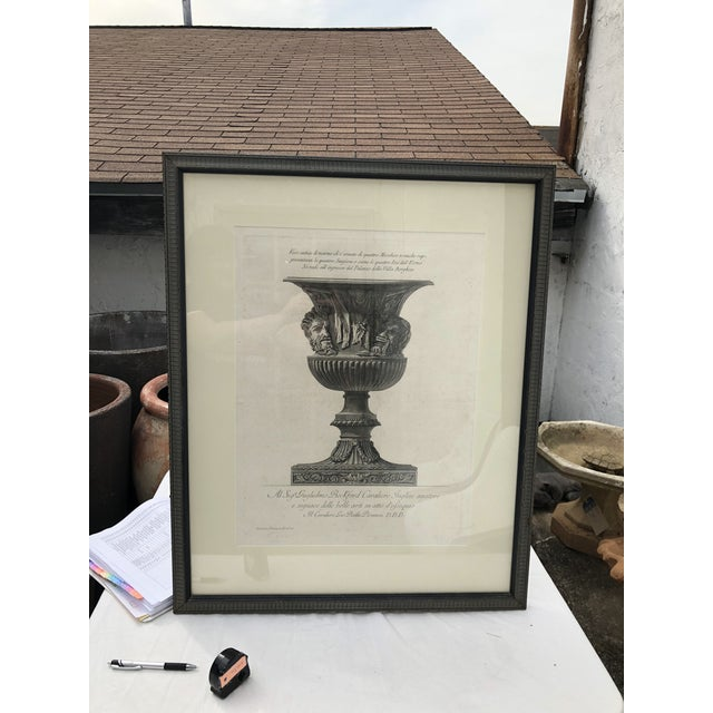 19th Century Piranesi Style Engraving of Urn Decorated With Four Seasons/Four Stages of Man For Sale - Image 13 of 13