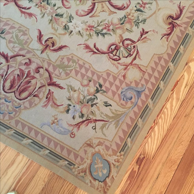 Vintage French Tapestry For Sale - Image 5 of 9