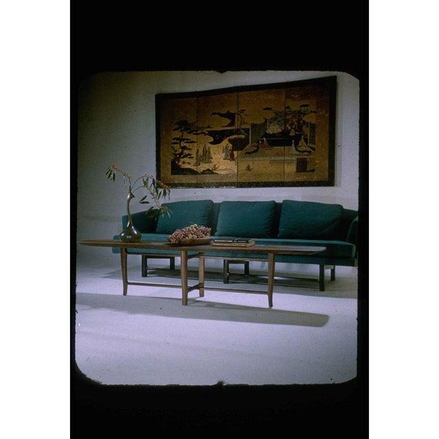 Mahogany Edward Wormley for Dunbar Model 5604 Sofa, Circa For Sale - Image 7 of 8